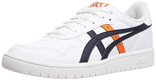 Asics Japan S, Sneaker Hombre, White/Marigold Orange, 41.5 EU