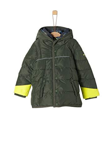 s.Oliver Jungen Puffer Jacket mit doppelter Kapuze Khaki 104