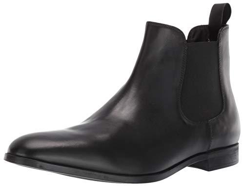Emporio Armani Herren Boot Chelsea Stiefel, schwarz, 43 EU