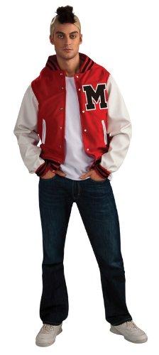 Glee Puck Football Player Adult Costume, Standard Color, Standard