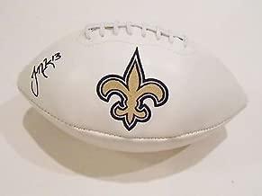 Joseph Morgan Signed New Orleans Saints Logo Football w/COA