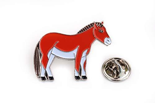 Bergbautradition.de Pin Anstecker Pferd Pony Urpferd Wildpferd