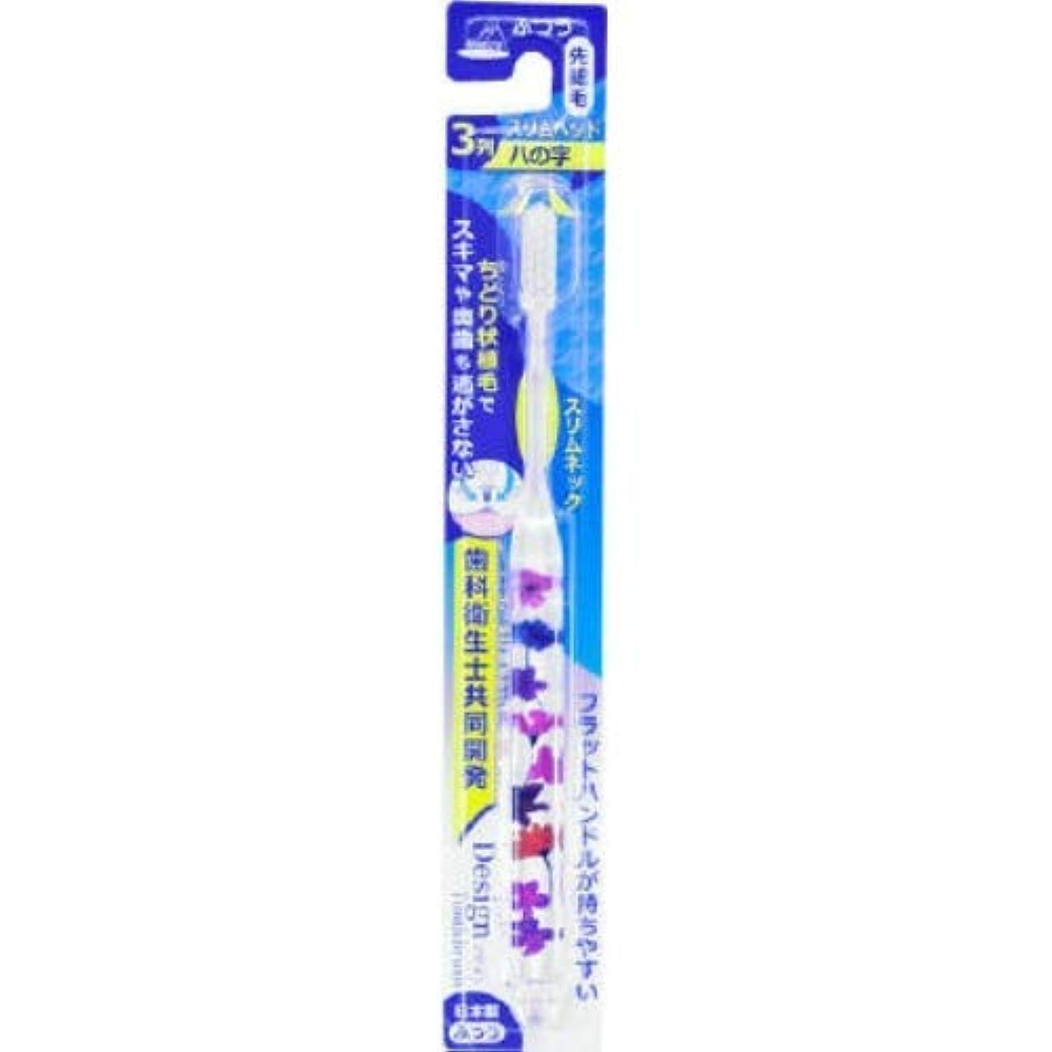 警報アロング器用アヌシ OB-806FA ちどりデザインハブラシ Flower 1本入