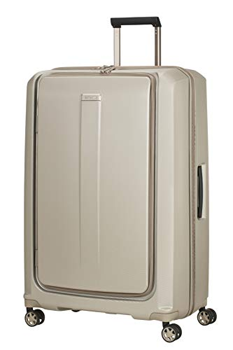 Great Features Of Samsonite Spinner 81 (81cm-140L), Ivory Gold