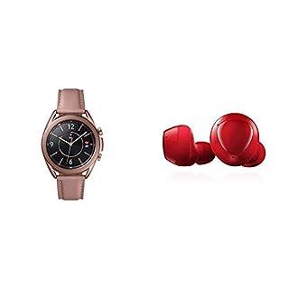 Samsung Galaxy Watch 3 (41mm, GPS, Bluetooth) Smart Watch - Mystic Bronze (US Version) with Samsung Galaxy Buds+ Plus, True Wireless Earbuds, Red – US Version (B08P4XL6Y7) | Amazon price tracker / tracking, Amazon price history charts, Amazon price watches, Amazon price drop alerts