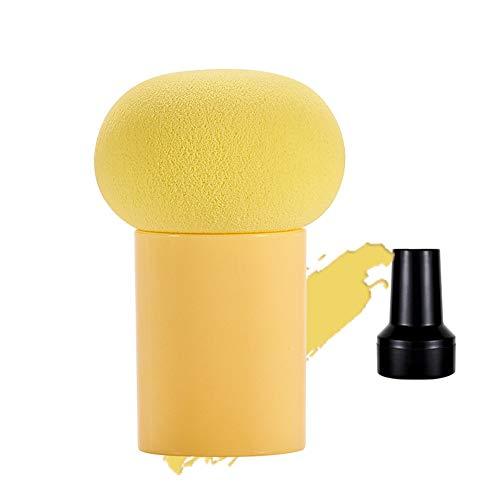 Beauté double tête ampoule feuilletée champignon tête coussin d'air maquillage éponge blush pinceau fard à paupières gourde beauté maquillage oeuf