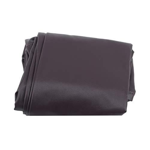 Pinhan Pinhan Universal PU Leder Armlehnenbezüge Stretchy Chair Sofa Arm Protector Für Sofas,Tiefer Kaffee