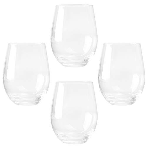 YARNOW 4 Uds. Vasos Highball Vasos de Postre Mini Cuenco para Bebidas Zumo de Agua Cóctel de Cerveza