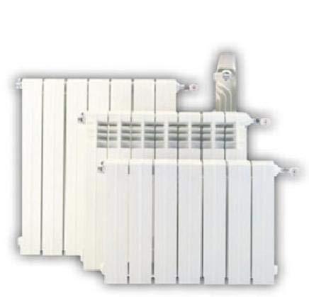 Baxi Roca Elemento radiador Aluminio Blanco 450 Reversible Precio por Elemento
