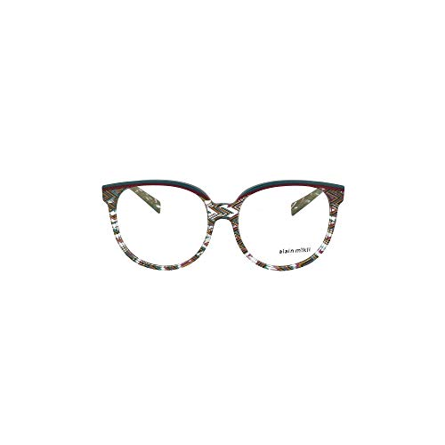 Alain Mikli Luxury Fashion Damen A03050E004 Multicolour Acetat Brille | Jahreszeit Permanent