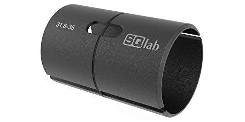 SQlab Vaina de Manillar en Aluminio 31,8, Adultos Unisex, Negro, 31.8 a 35 mm