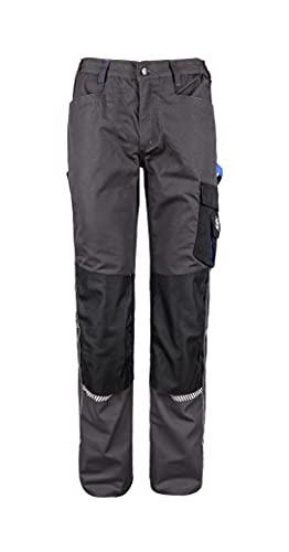 Stenso Prisma - Pantalones Cargo de Trabajo para Hombre - Resistentes y con numerosos Bolsillos - Gris EU52