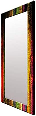 999Store Printed Multi Color Abstract Pattern Mirror