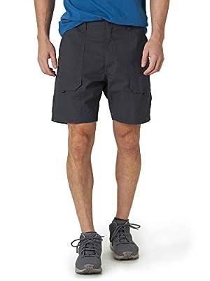 Men's Elastic Stretch Hiker Short (Anthracite, 42)