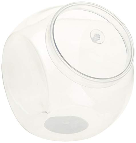 Clear Plastic Jar with Lid for Candy Buffets
