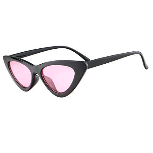 OPALLEY Frauen Sonnenbrillen, Frauen-Weinlese-Katzenaugen-Sonnenbrille-Retro- kleiner Rahmen Eyewear...