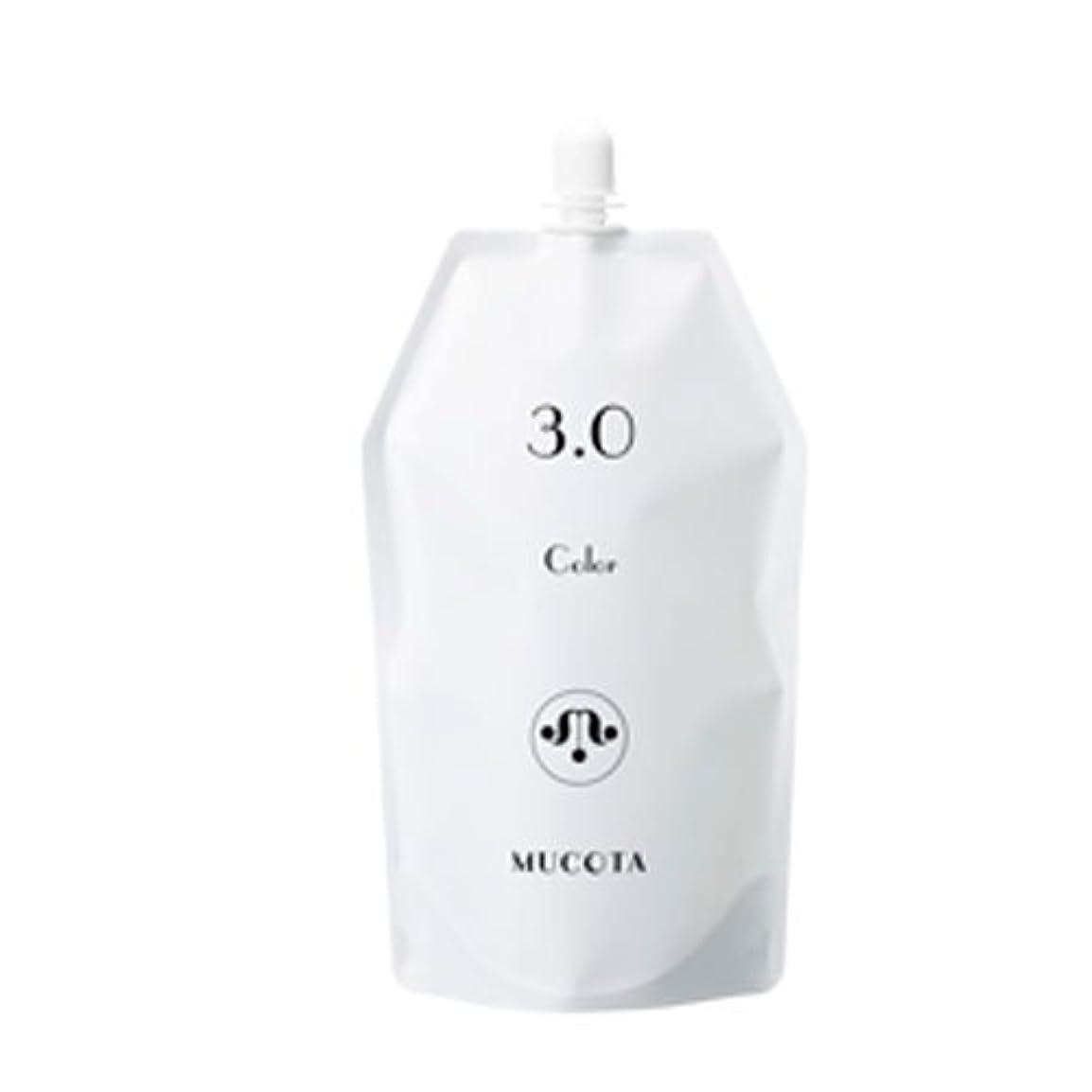 ただ難破船名義でムコタ ヘアカラー OX(3.0%/4.5%/6.0%) 各 1000ml【2剤】【オキシー】【グレイカラー?白髪染め】 (OX 3.0%)