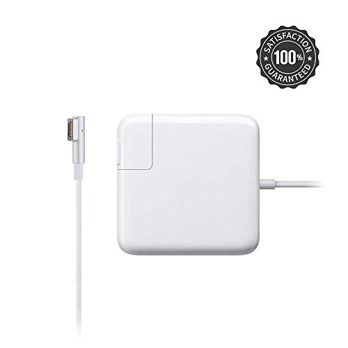 Mac Book Pro Charger,85W Magsafe L-Tip Power Adapter Charger for MacBook Pro 13,15, 17-inch (85W L) (White)