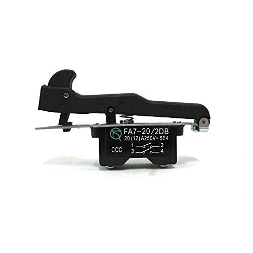 banapo Reemplazo del Interruptor de gatillo para Hitachi G18SE2 180 Piezas de Repuesto de Amoladora de ángulo Grande Grande
