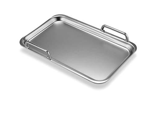 310O62o1rDL. SL500  - Bosch HEZ390512 Zubehör für Kochfelder / Teppan Yaki / Made in Germany / für FlexZonen und CombiZonen / induktionsgeeignet / 42 x 27 cm / Mehrschichtmaterial mit Aluminiumkern