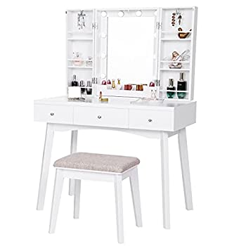 Best vanity set with mirror and lights Reviews