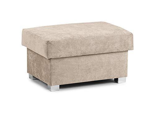 Honeypot - Sofa - Verona - Fabric - Corner Sofa - 3 Seater - 2 Seater - Footstool (Beige, Footstool)