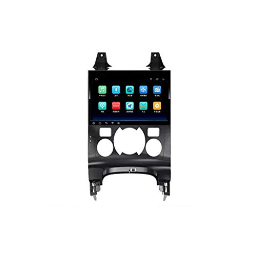 IW.HLMF Autoradio da 9 Pollici in Dash Autoradio Stereo Android 8.1 Player Compatibile per Peugeot 3008 AT (2013-2018), Touch Screen Capacitivo GPS, WiFi, Bluetooth, Mirror Link (RAM 1G + Rom 16G)
