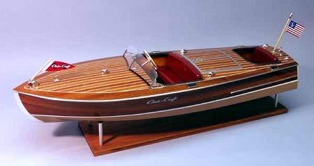 Dumas 1949 Chris-Craft Racing RUNABOUT Model Boat KIT