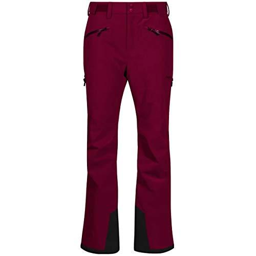 Bergans Oppdal Insulated Lady Pants Rot, Damen Hose, Größe XL - Farbe Beet Red