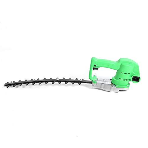 OKAT Cortasetos, Cortasetos eléctrico con Mango ergonómico para Cinturones Verdes para césped(Cimitarra)
