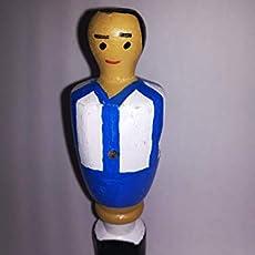 Atlético de Madrid escultura muñeco futbolin gigante: Amazon.es: Handmade