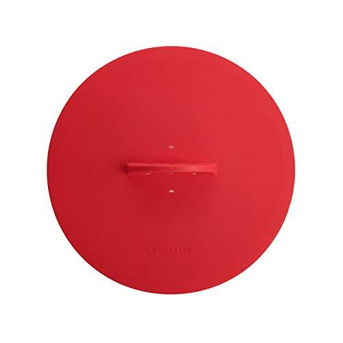 Instant Pot Tampa universal oficial de silicone para assar, vermelha