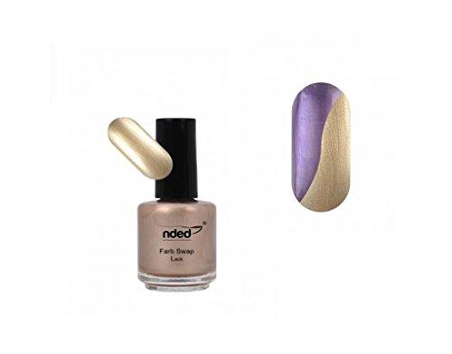 Vernis Swap Or à doux violet - Change de couleur - Nouveau - REF5668