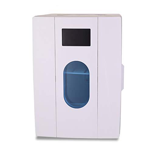 FAPROL Diepvrieskast, kleine autokoelbox, 6 liter, compacte camper, koeler, 12 V/220 V, draagbare koelkast met comfortabele greep