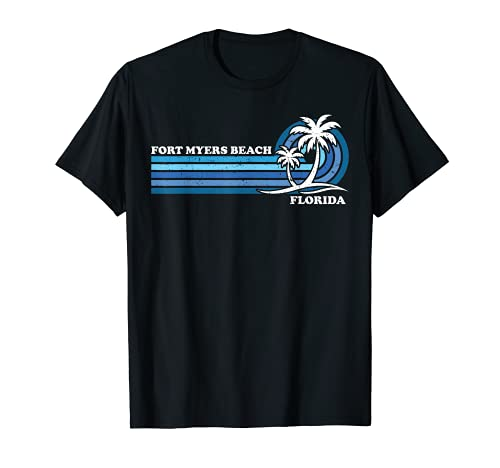 Retro Vintage Family Vacation Florida Fort Myers Beach T-Shirt