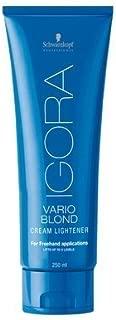 Schwarzkopf Igora Vario Blond Cream Lightener 8.4 Ounce