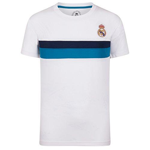 Real Madrid Camiseta Oficial Para Entrenamiento - Para Niño - Poliéster -...