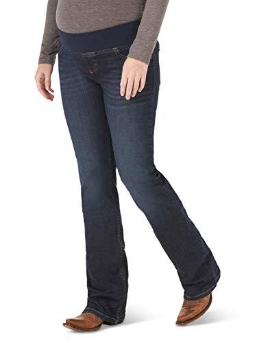 Wrangler 09MWZM1 Jeans, Azul Vaquero, 17W x 34L para Mujer