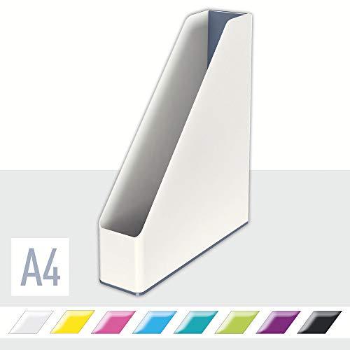 Leitz Stehsammler Duo Colour, A4, perlweiß /grau, WOW, 53621001