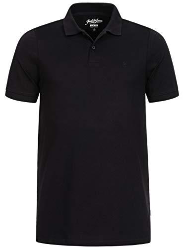 Jack & Jones Jjebasic Polo SS Noos - Camiseta para Hombre, Negro , Talla M