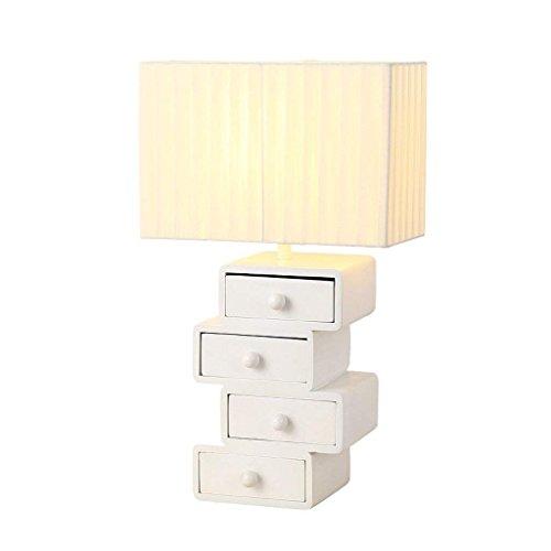 DSJ Post-Moderne slaapkamer persoonlijkheid creatieve lade stijl doek tafellamp nacht Nordic Study bureaulamp