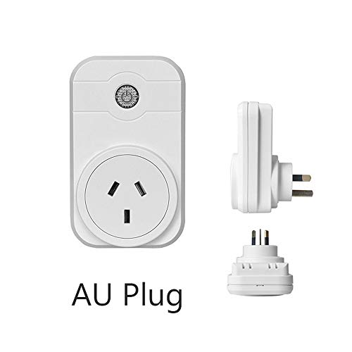HEFEI WiFi Energy Saving Remote Control Wireless Outlet Protector Timer Switch Programmable Socket Smart Plug(AU Plug)