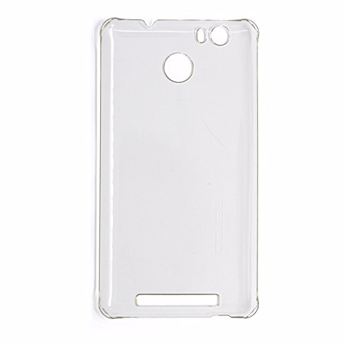 New Protective Hard Back Case Cover For LEAGOO Shark 1 6.0 inch Phone - Transparent White
