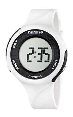 Calypso - Reloj unisex deportivo K5604 - Blanco
