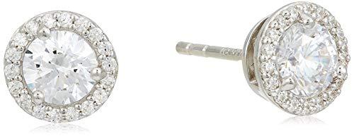 Michael Kors Damen-Ohrstecker 925er Silber 12 Zirkon One Size Silber 32010070