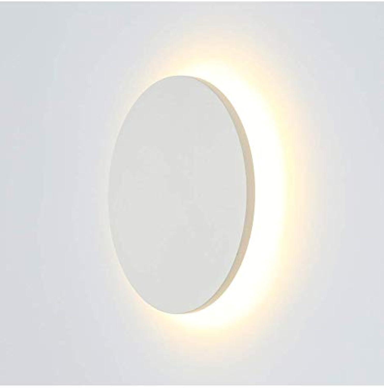KosiLight - Moderne LED Leuchte für Wnde 9W - Lunar - Wei - 990 lm - Aluminium - IP65 - A