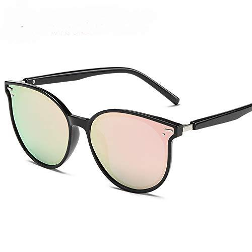 KuanDar clo Sonnenbrillen Für Frauen, Metall Rand Rahmen, Stilvolle,Anti-Reflexion 100%, Uv Augenschutz, for Damen Uv400 Reflektierenden Spiegel, C
