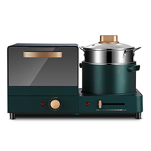 tostadora 220V Hogar Pan Eléctrico Tostadora Automática Mini 6L Alimento Eléctrico Horno Multi Cocina Vapores Electric Breakfast Maker Baker (Color : 220V, Plug Type : 4)