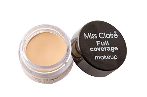 Miss Claire Full Coverage Makeup + Concealer #8, Beige, 6...