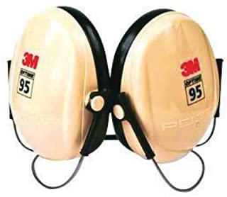 3M Peltor Optime 95 Black And Beige ABS Behind-The-Head Hearing Conservation Earmuffs